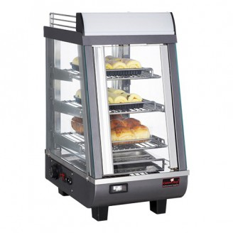 CaterChef warmhoudvitrine - 350x490x660 mm (bxdxh)