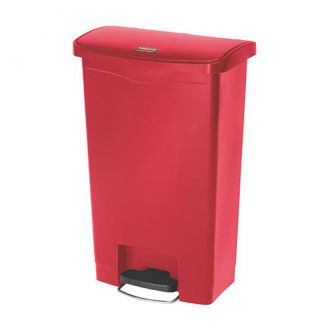 pedaalemmer StepOn rood 50ltr.