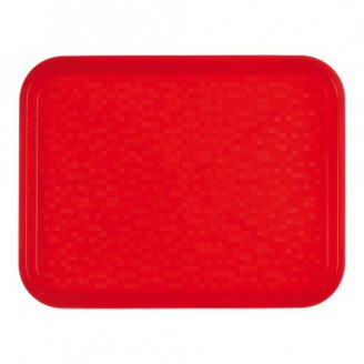 Roltex Dienblad poly - rood - 45,5x35,5 cm